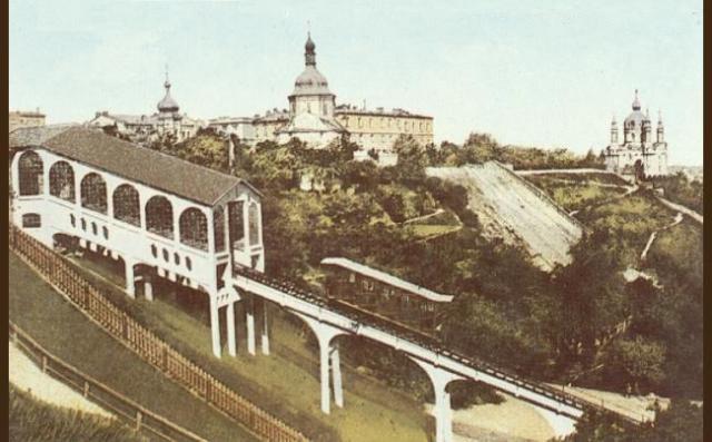 Фуникулер г.Киева