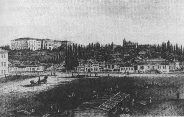 Крещатик, 1851г.