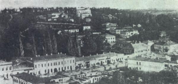 Киев, Крещатик 1860г.