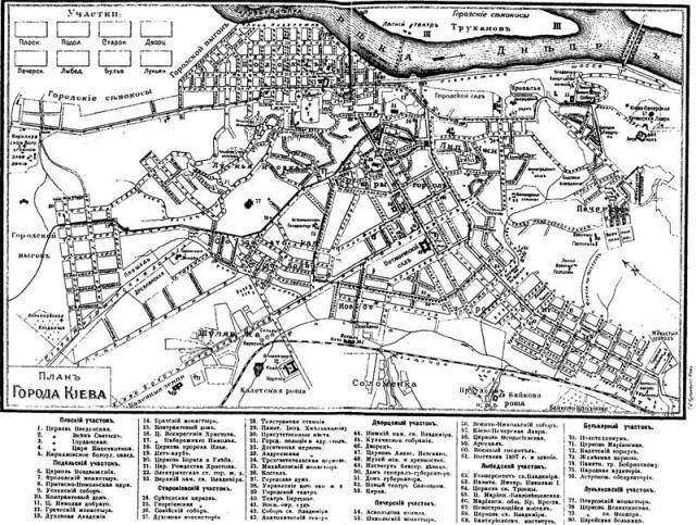 План г.Киева 1913 года